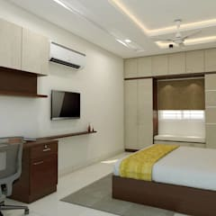 Bedroom by shree lalitha consultants,
