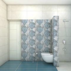 Bathroom by shree lalitha consultants