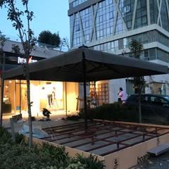 Akaydın şemsiye – 5x5 LUX MODEL ŞEMSİYE:  tarz Ön avlu