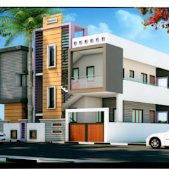 Architectural :  Houses by PAVAN TECHNO CONSTRUCTIONS