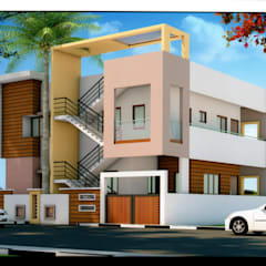 Architectural : colonial Houses by PAVAN TECHNO CONSTRUCTIONS