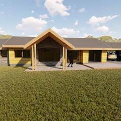 Casas unifamiliares de estilo  por Civco Ltda