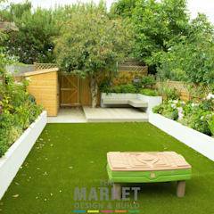 Rear Extension in Ealing:  Garden by The Market Design & Build