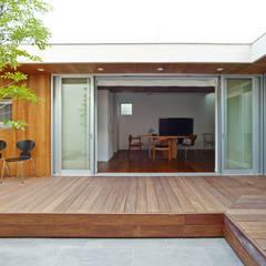 house ASA: 有限会社スマイルスタジオ/sMile sTudioが手掛けた庭です。