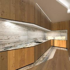 Habitação Unifamiliar Isolada T4 com Piscina - Definied LOOP por Office of Feeling Architecture, Lda Moderno Madeira Acabamento em madeira