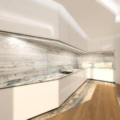 ห้องครัว โดย Office of Feeling Architecture, Lda, โมเดิร์น ไม้ Wood effect