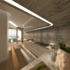 Kitchen units by Office of Feeling Architecture, Lda