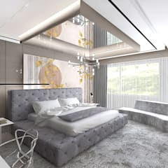 aranżacja sypialni: styl , w kategorii Sypialnia zaprojektowany przez ARTDESIGN architektura wnętrz