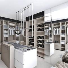 wygodna garderoba: styl , w kategorii Garderoba zaprojektowany przez ARTDESIGN architektura wnętrz