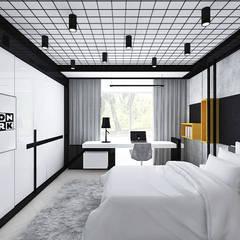 pokój nastolatka: styl , w kategorii Pokój młodzieżowy zaprojektowany przez ARTDESIGN architektura wnętrz