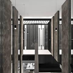projekt klatki schodowej: styl , w kategorii Schody zaprojektowany przez ARTDESIGN architektura wnętrz