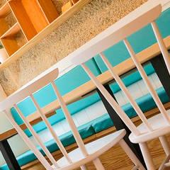 Amodo Restaurante Organico: Locales gastronómicos de estilo  de ADC Espacios