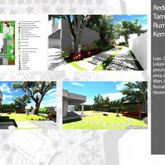 Front yard by Bengkel Tanaman