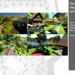 Jardines en la fachada de estilo  por Bengkel Tanaman