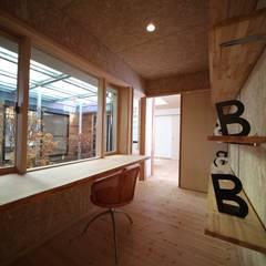 書斎: 株式会社高野設計工房が手掛けた書斎です。