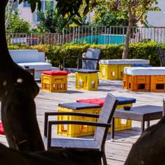 Agribar Bar/co Cerillo: Bar & Club in stile  di Studio MetroQuadro