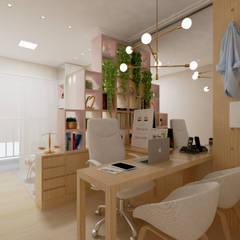 Escritório : Edifícios comerciais  por Juliana Lobo Arquitetura & Interiores