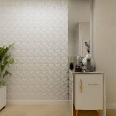 Recepção : Edifícios comerciais  por Juliana Lobo Arquitetura & Interiores