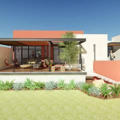 Terraza: Terrazas de estilo  por Taller de Materia Arquitectónica
