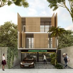 Departamentos Cocoyol - Comalcalco, Tabasco.: Casas multifamiliares de estilo  por Obed Clemente Arquitecto