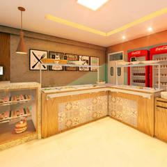 01: Espaços gastronômicos  por Habitus Arquitetura