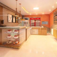 03: Espaços gastronômicos  por Habitus Arquitetura