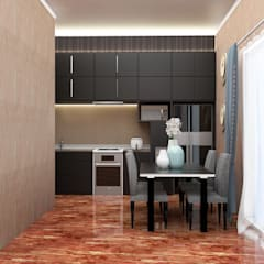 Kitchen Set:  Dapur built in by Kolletra Visual Studio