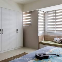 Dormitorios infantiles de estilo  por 鼎士達室內裝修企劃