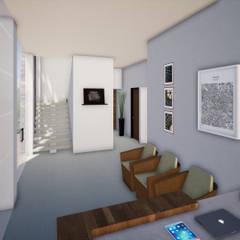 CENTRO ESTETICO : Spa de estilo moderno por CONSTRUCCIONES DISEÑARTE