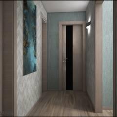 الممر والمدخل تنفيذ Студия дизайна интерьера L'grans,