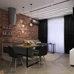 Cocinas de estilo  por Студия дизайна интерьера L'grans,