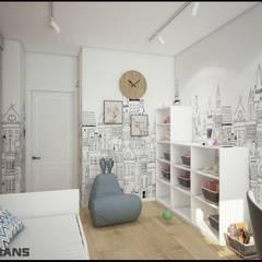 Дизайн интерьера 4к. квартиры по ул. Карла-Маркса: Детские комнаты в . Автор – Студия дизайна интерьера L'grans