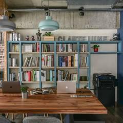 مكتب عمل أو دراسة تنفيذ 澄月室內設計