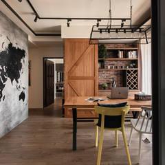 غرفة السفرة تنفيذ 澄月室內設計