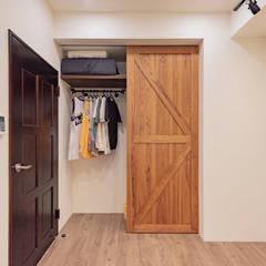 澄月室內設計의  침실, 인더스트리얼