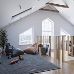 Маленькая Шотландия: Коридор и прихожая в . Автор – FISHEYE Architecture & Design