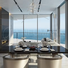 Apartments in Aurora, Miami. Квартира в Aurora, Miami.: Столовые комнаты в . Автор – NEUMARK