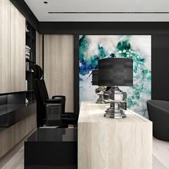 THE BRAINS OF THE OPERATION | II | Wnętrza domu: styl , w kategorii Domowe biuro i gabinet zaprojektowany przez ARTDESIGN architektura wnętrz