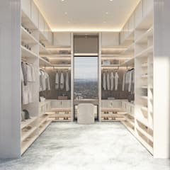 Dressing room by NEUMARK, Minimalist