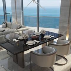 Apartments in Aurora, Miami. Квартира в Aurora, Miami.: Столовые комнаты в . Автор – Anton Neumark