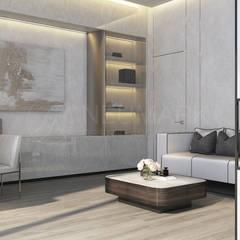Beverly Park Residence. Частный дом в Beverly Park.: Рабочие кабинеты в . Автор – Anton Neumark