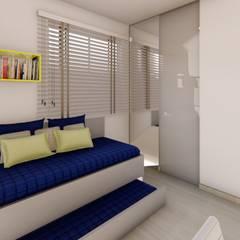 غرفة نوم أولاد تنفيذ Fark Arquitetura e Design