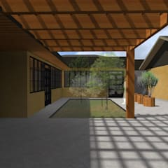 Single family home by Vicente Espinoza M. - Arquitecto