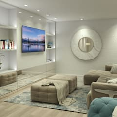 Living room by Glim - Design de Interiores, Classic