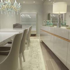 SALA DE JANTAR SOFISTICADA  : Salas de jantar  por Glim - Design de Interiores