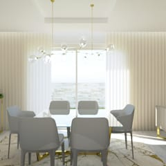 Dining room by Glim - Design de Interiores, Modern