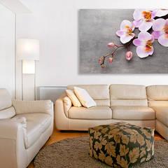 Orchidea: styl , w kategorii Salon zaprojektowany przez BajeczneObrazy.pl