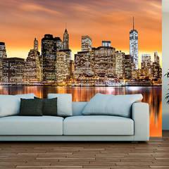 Fototapeta Nowy Jork: styl , w kategorii Salon zaprojektowany przez BajeczneObrazy.pl