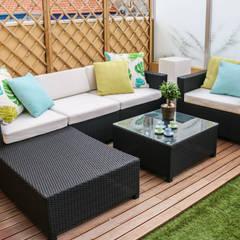 Espaço exterior: Terraços  por Perfect Home Interiors