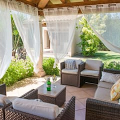 Front garden by Diego Cuttone, arquitectos en Mallorca